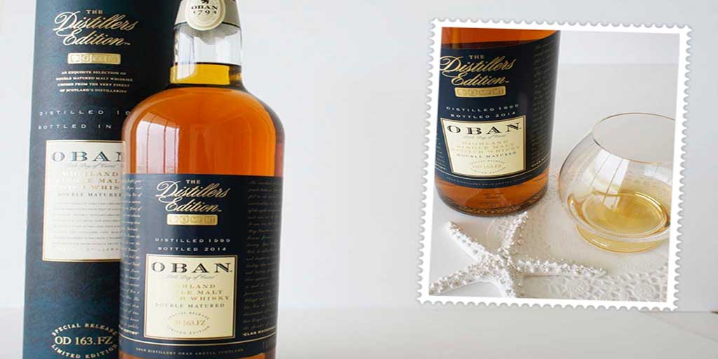Oban Distiller's Edition whisky header