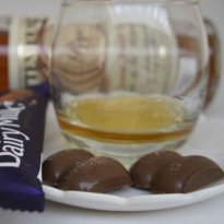 Rittenhouse Rye and Chocolate pairing Cadbury milk chocolate 3