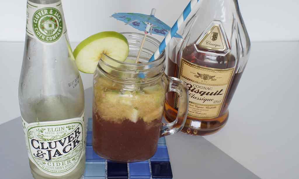 Cluver & Jack Apple Cider Bisquit Cognac Cocktail