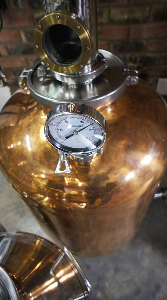 angel heart distillery gin the gleaming copper