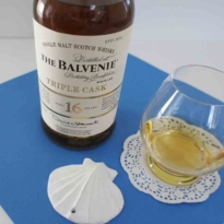 Balvenie triple cask 16 yo with glass
