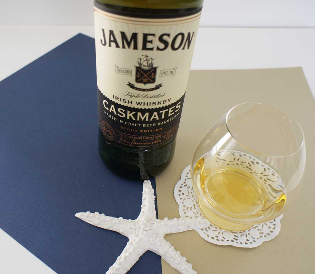 Jameson Caskmates with glass
