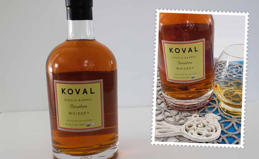 Koval single barrel bourbon whiskey header Koval bourbon