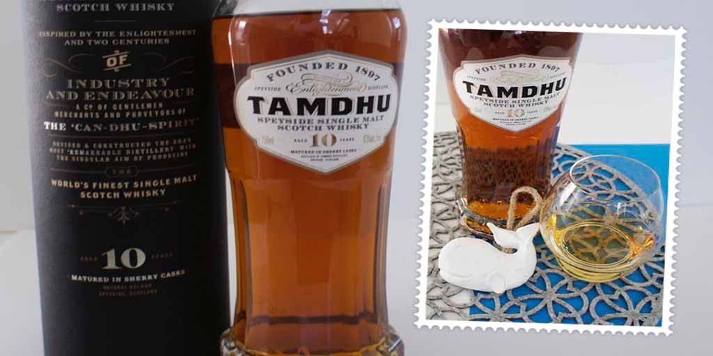 Tamdhu 10 yo single malt whisky header