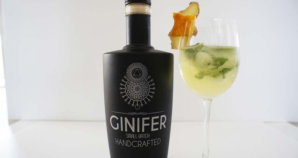 Ginger Mango Gin Cocktail Header Ginifer Gin