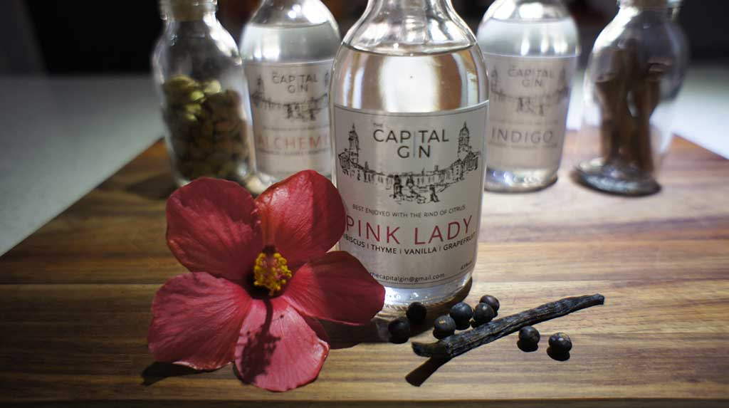 The Capital Gin Pink Lady
