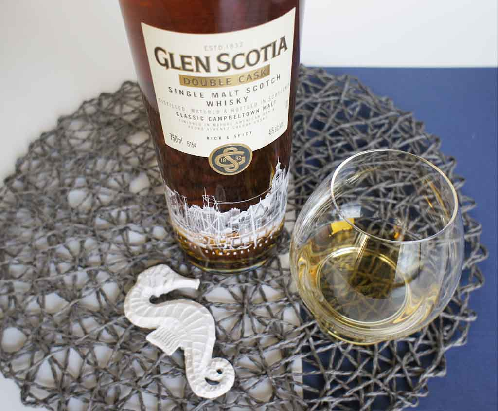 Glen Scotia Double Cask with glass