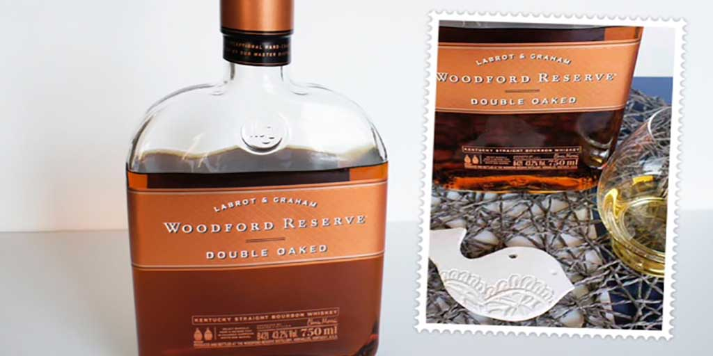 Woodford Reserve Double Oaked Header