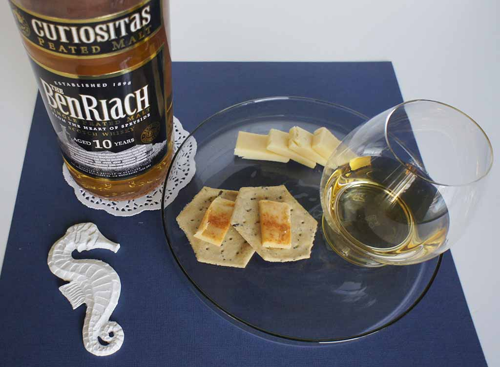 Wyke Bonfire Cheese whisky pairing BenRiach Curiositas