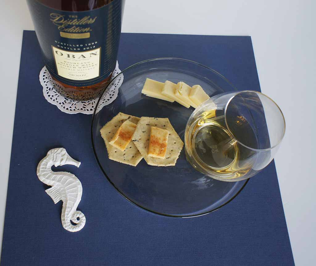 Wyke Bonfire Cheese whisky pairing Oban Distillers Edition 1994
