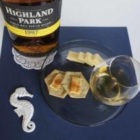 Wyke Bonfire Cheese whisky pairing Highland Park 1997 Vintage