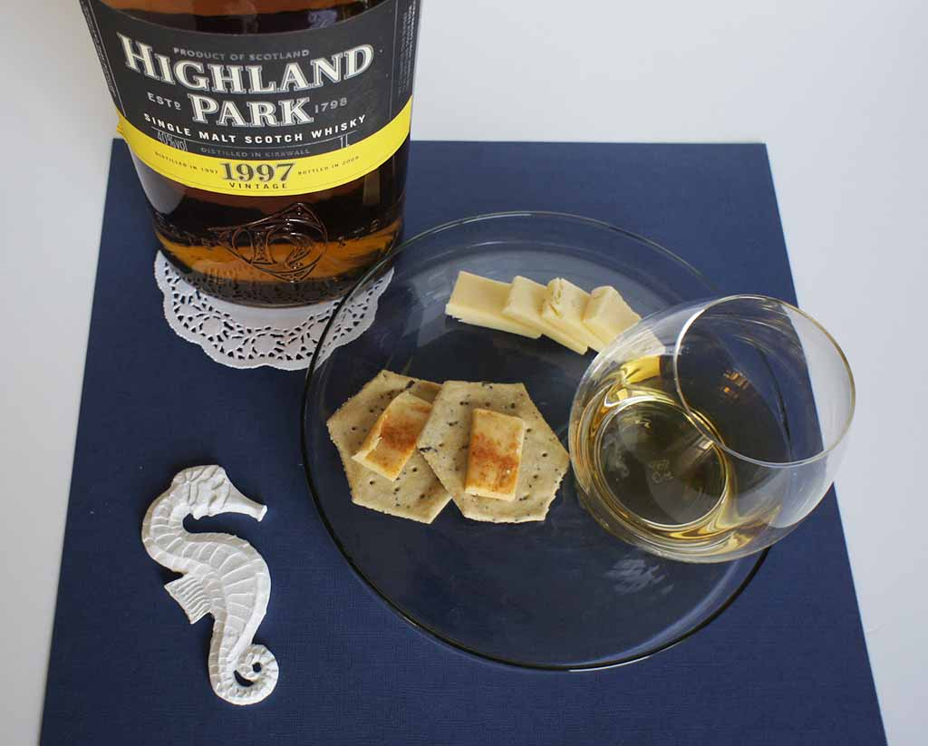 Wyke Bonfire Cheese whisky pairing Highland Park 1997 Vintage