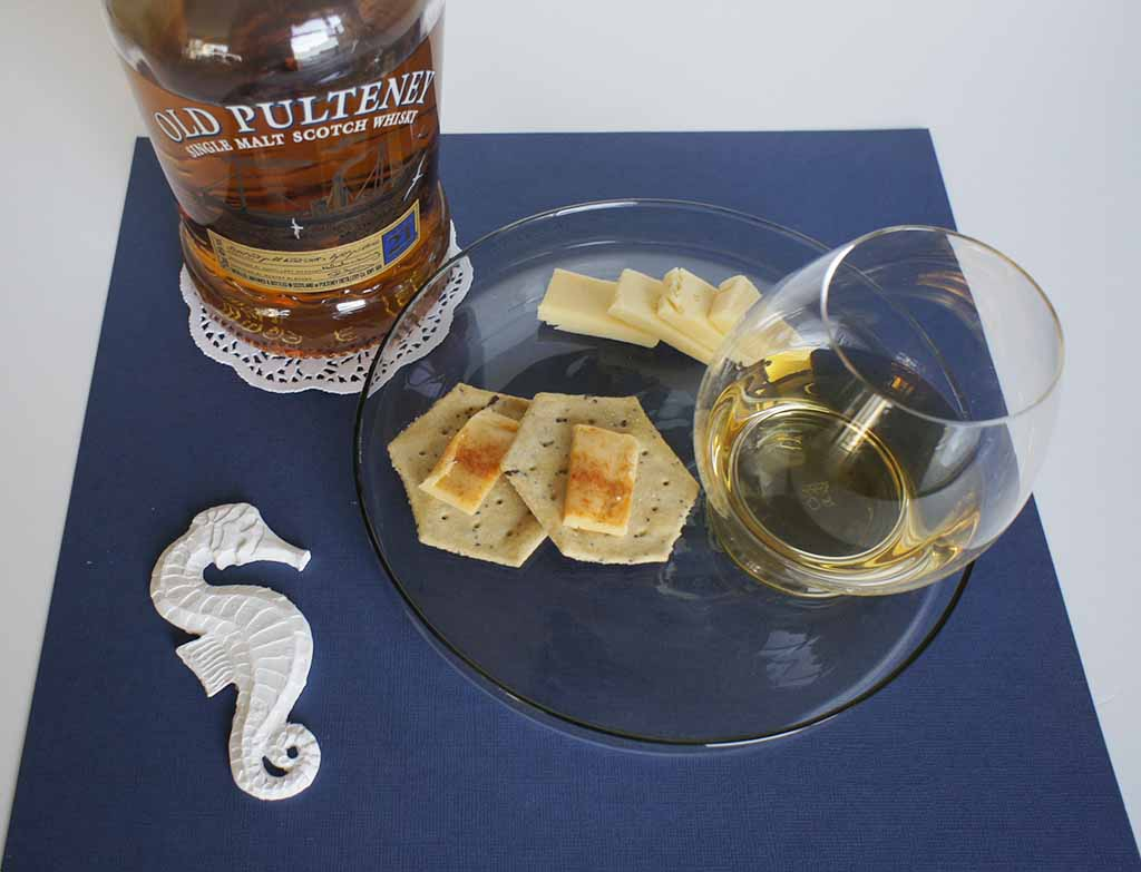 Wyke Bonfire Cheese whisky pairing Oil Pulteney 21 yo