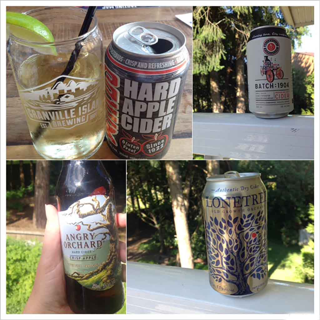 Canada Travel Diary Ciders