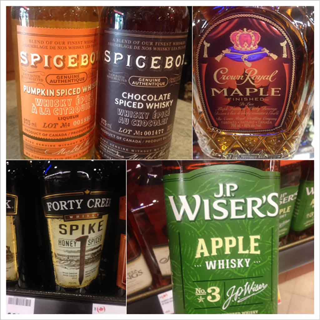 Canada Travel Diary flavoured whisky