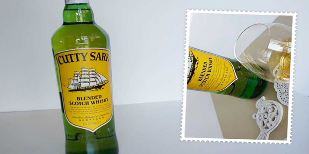 Cutty Sark blended whisky Header