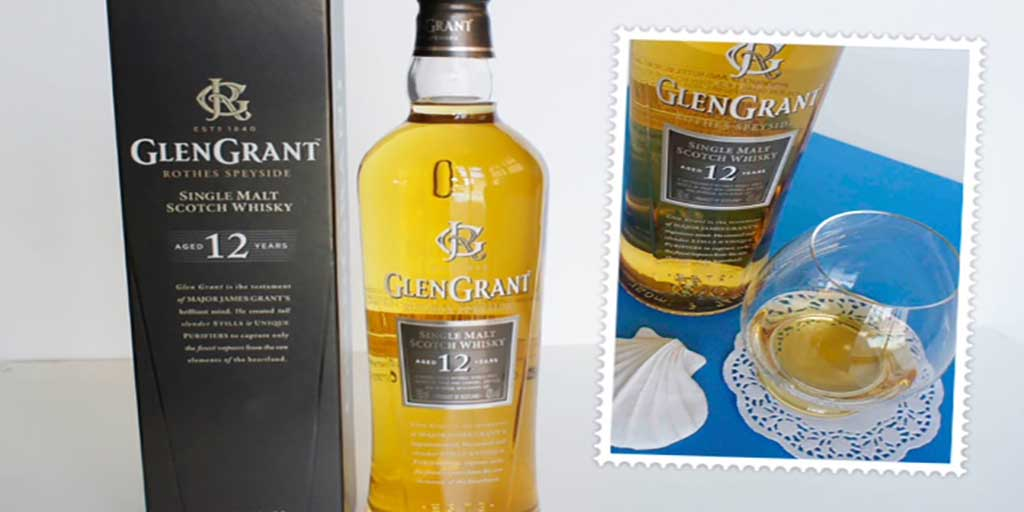 Glen Grant 12 yo whisky Header