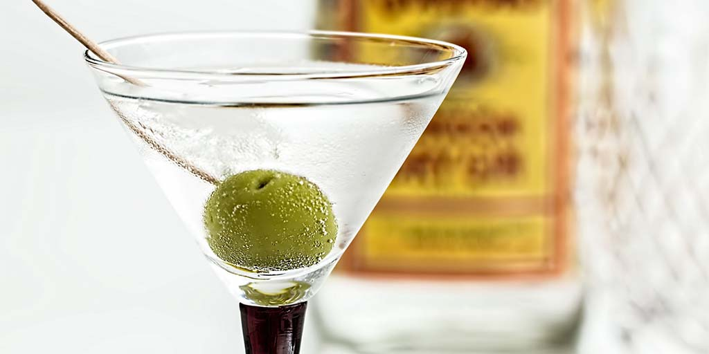 gin and olives header