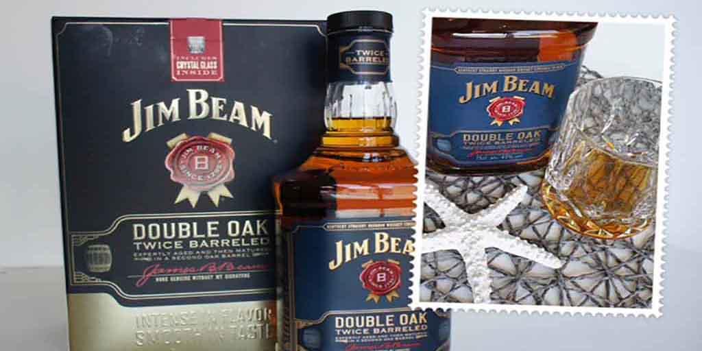 Jim Beam Double oak header