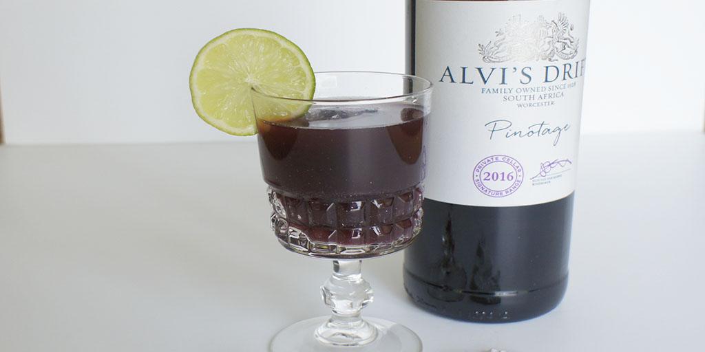 Pinotage sangria Alivi's Drift header