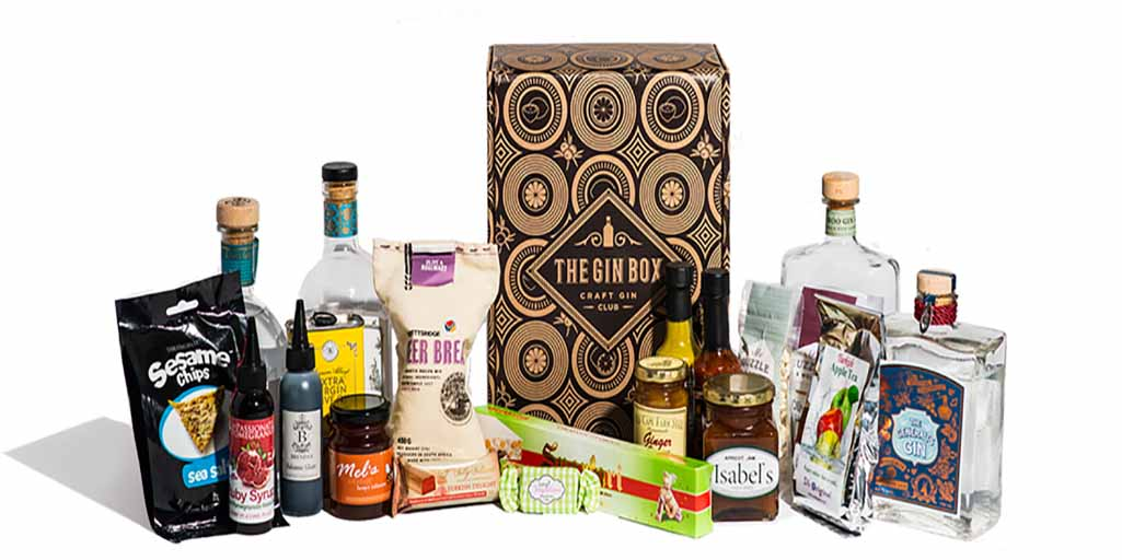 The gin box header
