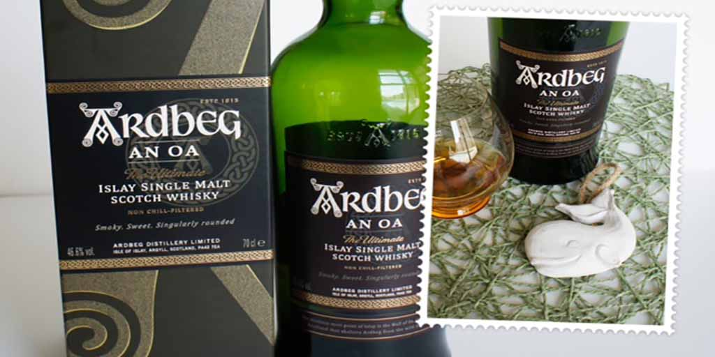 Ardbeg An Oa whisky Header