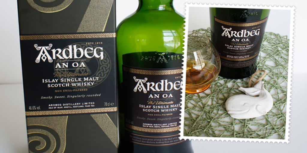 Ardbeg An Oa whisky Header