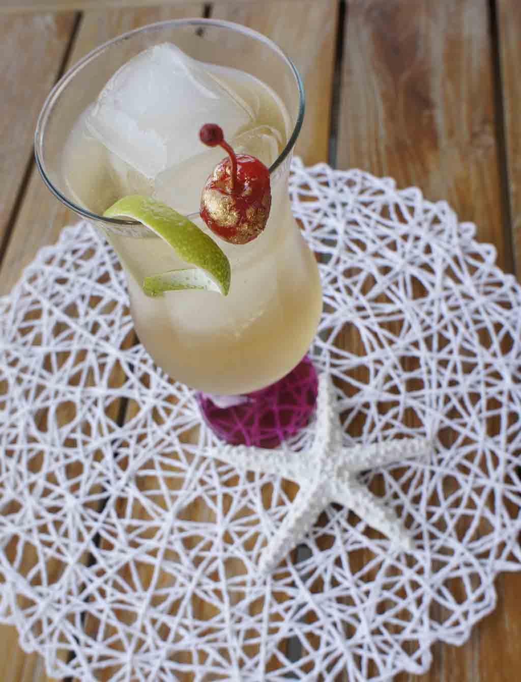 Sandton Iced Tea cocktail with star