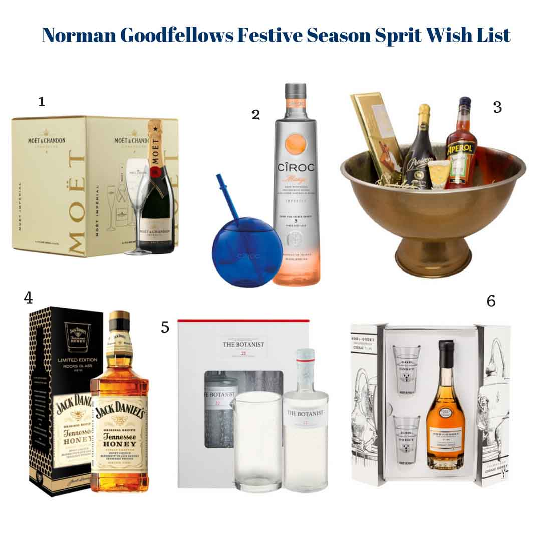 Norman Goodfellows Festive Season Spirits wish list