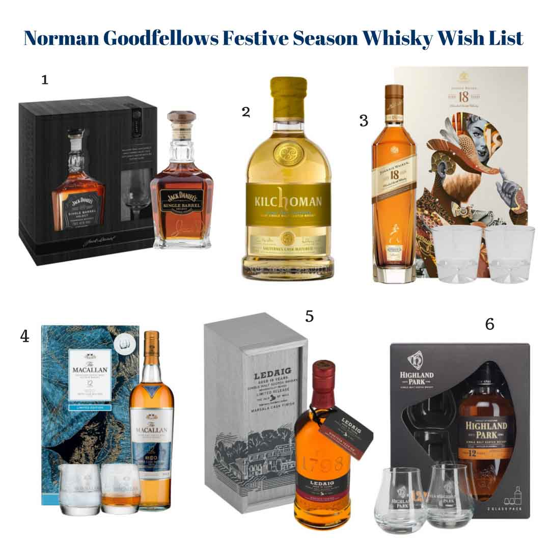 Norman Goodfellows Festive Season Whisky Wish List