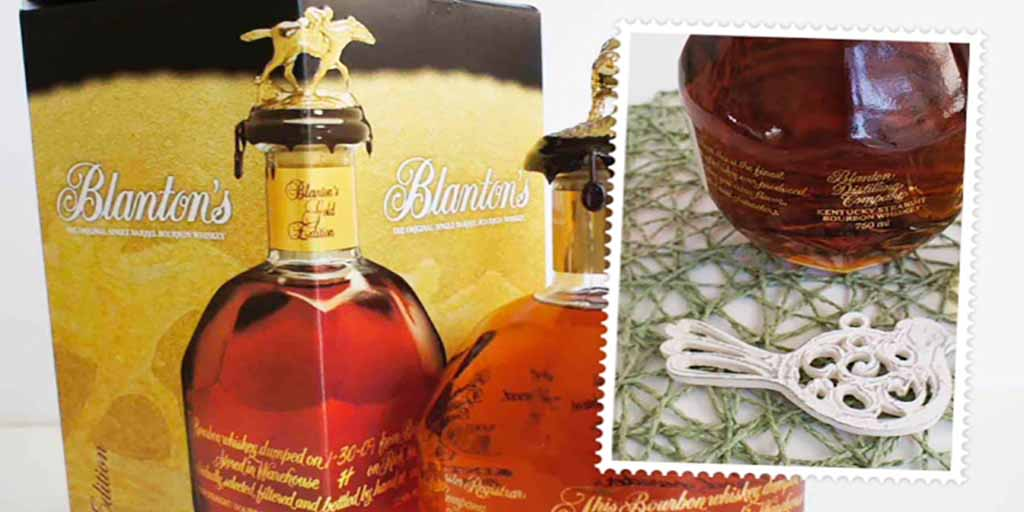 Blanton's gold bourbon Header