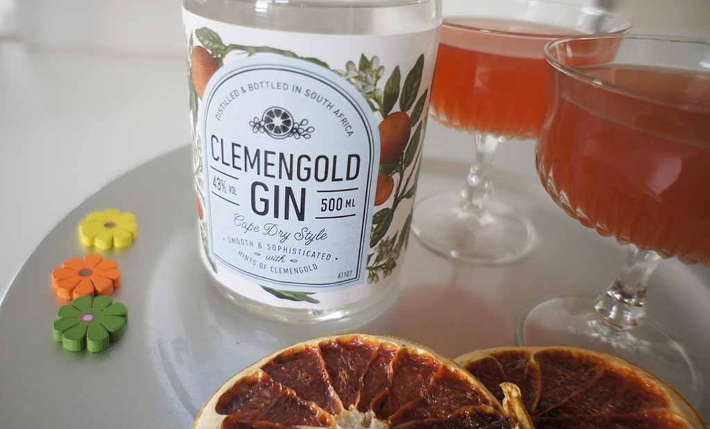 Rose and Grapefruit Gimlet clemengold 2
