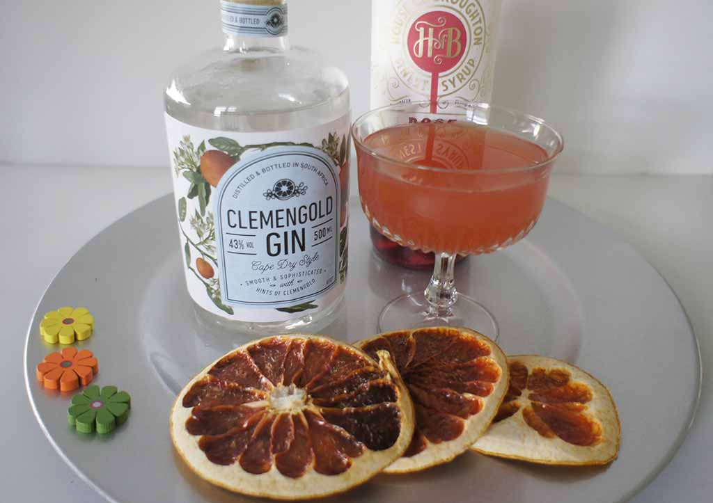 Rose and Grapefruit Gimlet clemengold 1