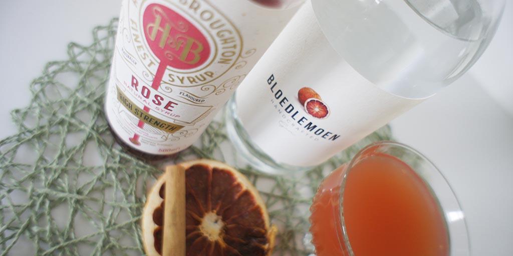 Rose and Grapefruit Gimlet header