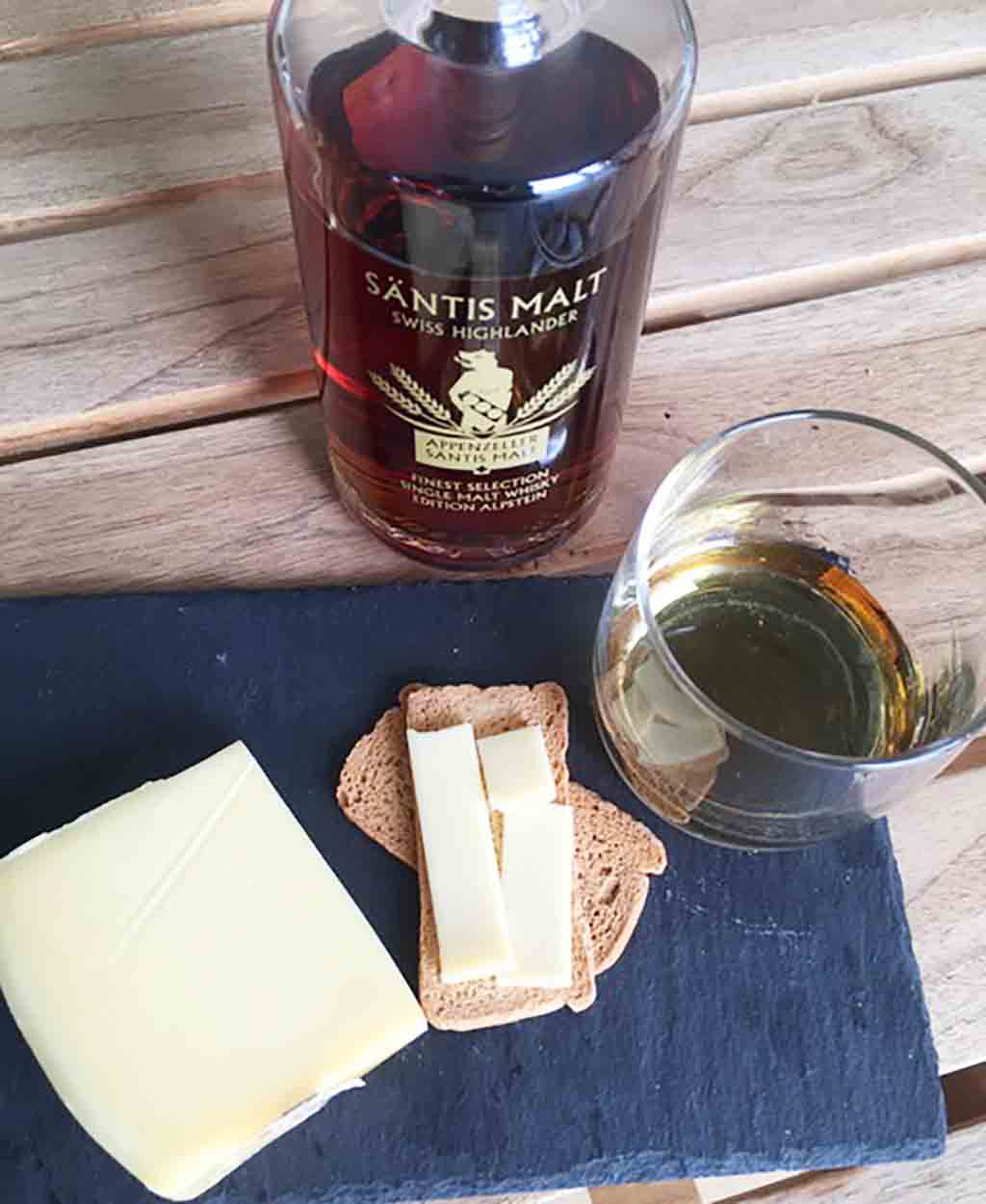 Whisky And Appenzeller Cheese Pairing